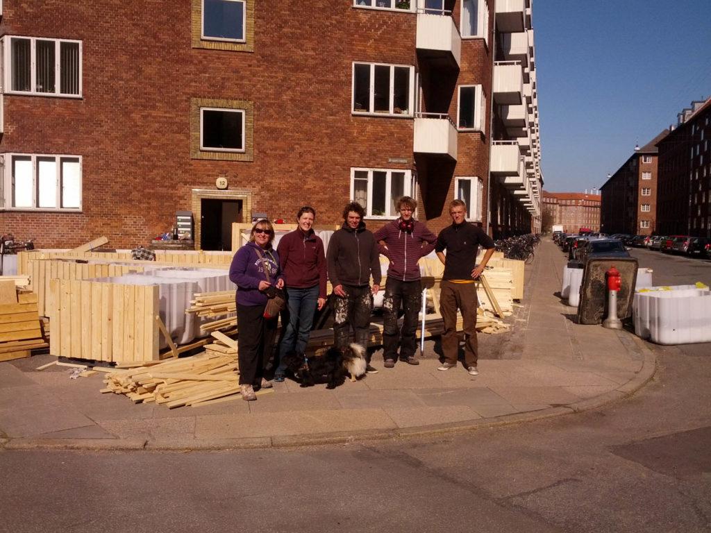 Indvielse af Fortovshave på søndag kl. 10-12 – Vi har brug for en hjælpende hånd til færdiggørelsen af Fortovshaven