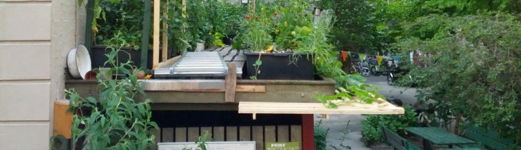 Byg dit eget TagTomatStativ – her har vi bygget en græskarhylde – Kapillærkasseworkshop den 11. og 23. august på Tåsinge Plads