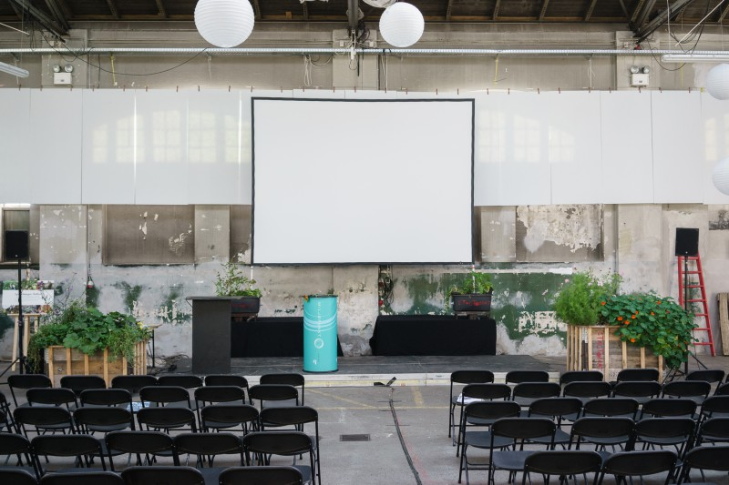 Den grønne ramme er sat - selvvandende højbede og plantekasser - Eat Your City konference 2014