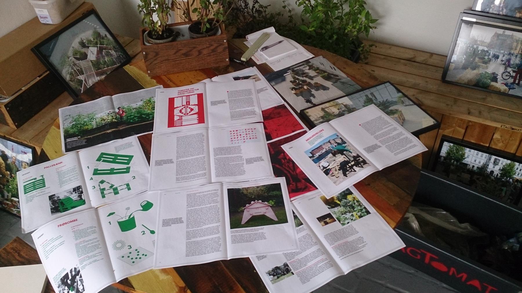 Forudbestil BogTomat - om grønne fællesskaber i byen