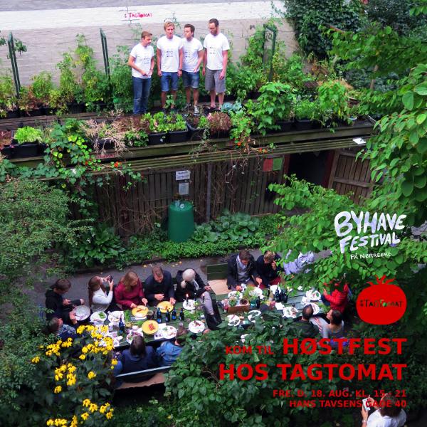 Høstfest hos TagTomat