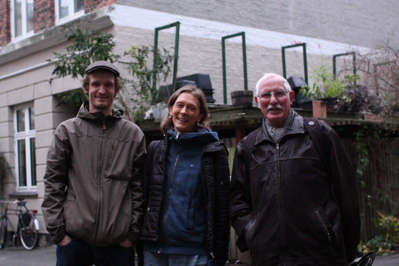 Marianne Mark, Jens Juhl og Mads Boserup Lauritsen