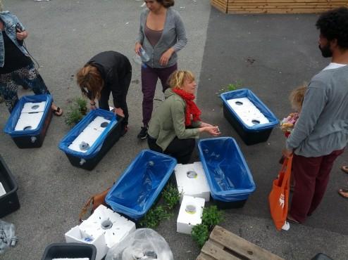 Foring med fødevaregodkendte plastposer