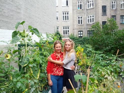 Mor og datter i TagHaven