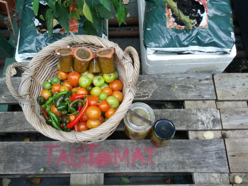 Så er der tomathøst og relish