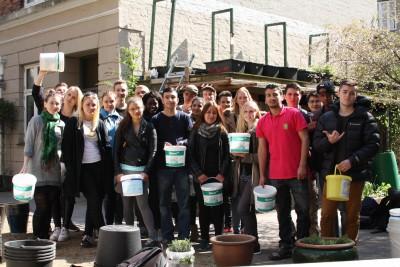 Spirerforløb med Københavns Åbne Gymnasium i genbrugt fødevareemballage