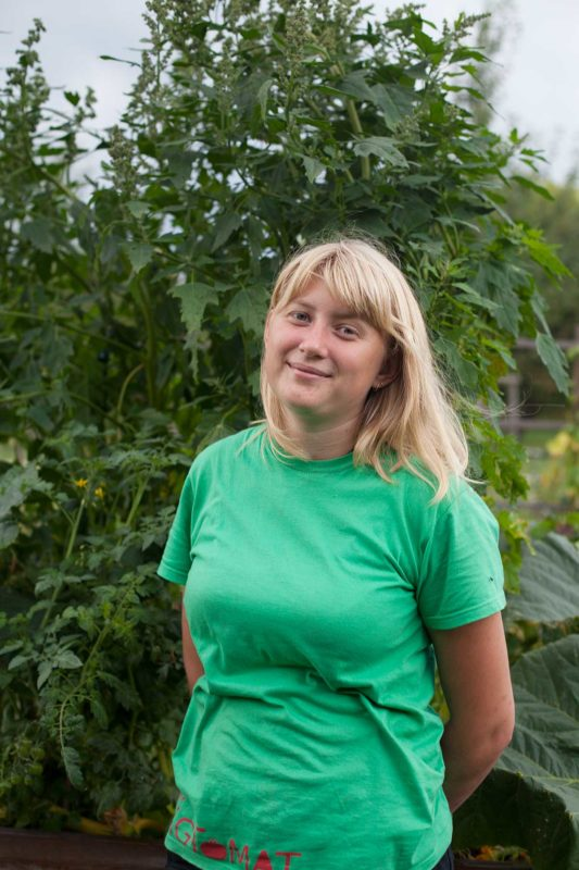 Rie Juhl Arndt - Landskabsarkitektstuderende, rie@tagtomat.dk