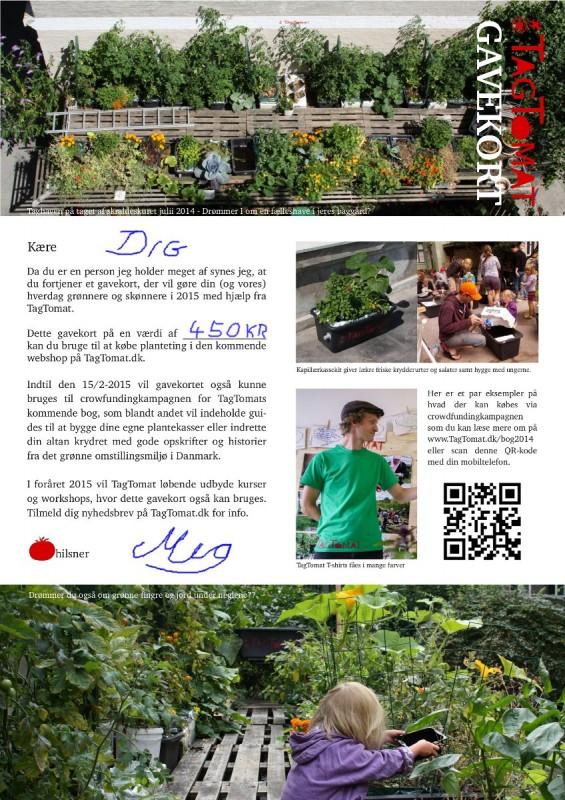 Gavekort til TagTomat - print ud og giv til en ven