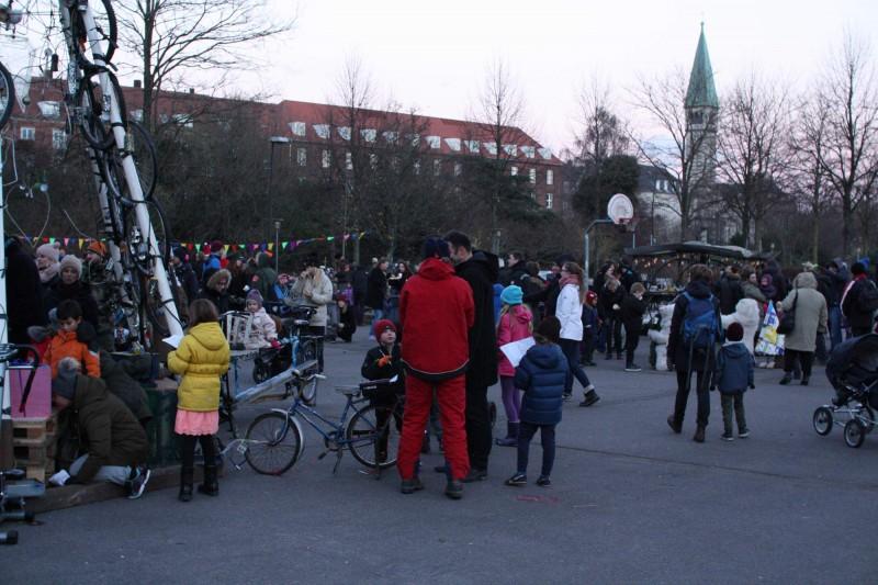 Juletræsfest i Enghaveparken på Vesterbro