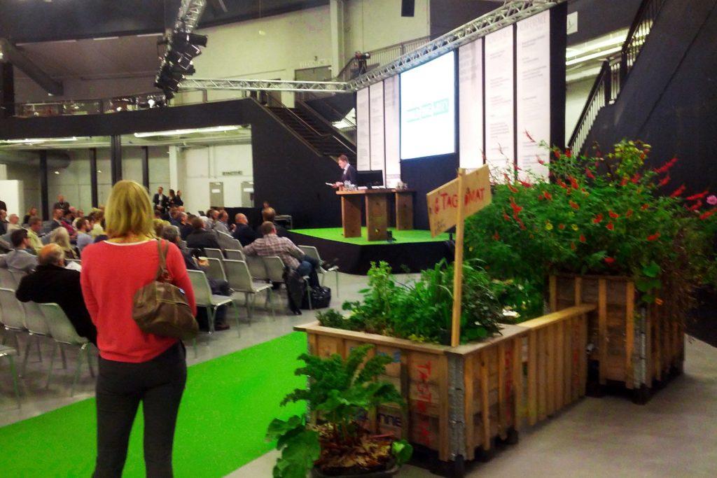 Messestand til Building Green 2014 i Forum