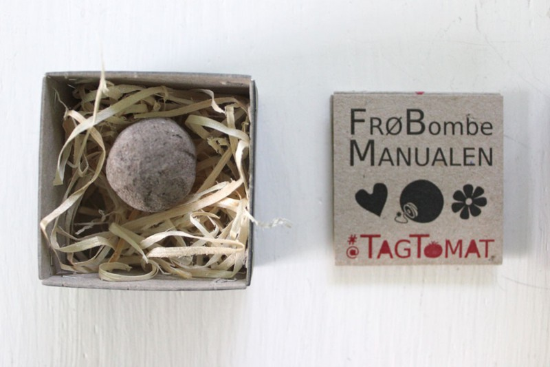 Flower/seed bombs are a portable strategy for citizens to engage with their environment. In addition to selling and producing Flower Bombs, TagTomat holds open workshops at community events to show you how to create your own.