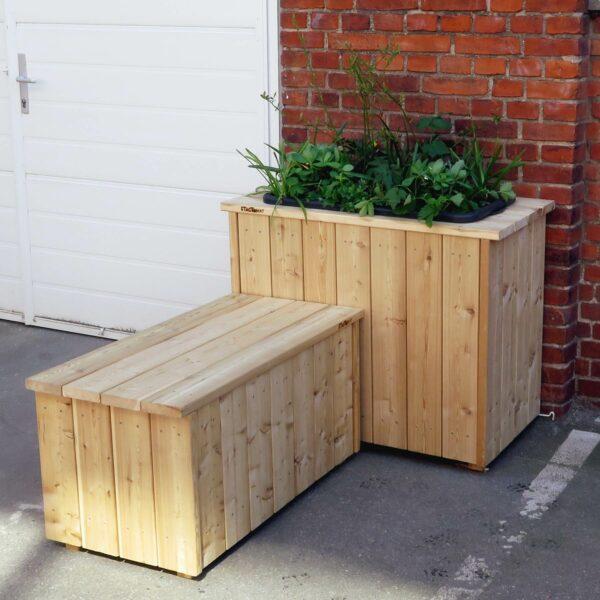 Plantekassemoduler terrassesammensætningen