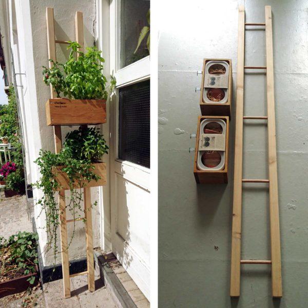 Plantestativ med to KøkkenKasser