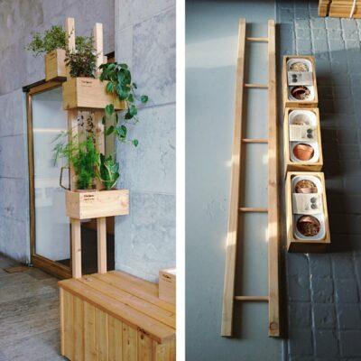 Plantestativ med 3 KøkkenKasser
