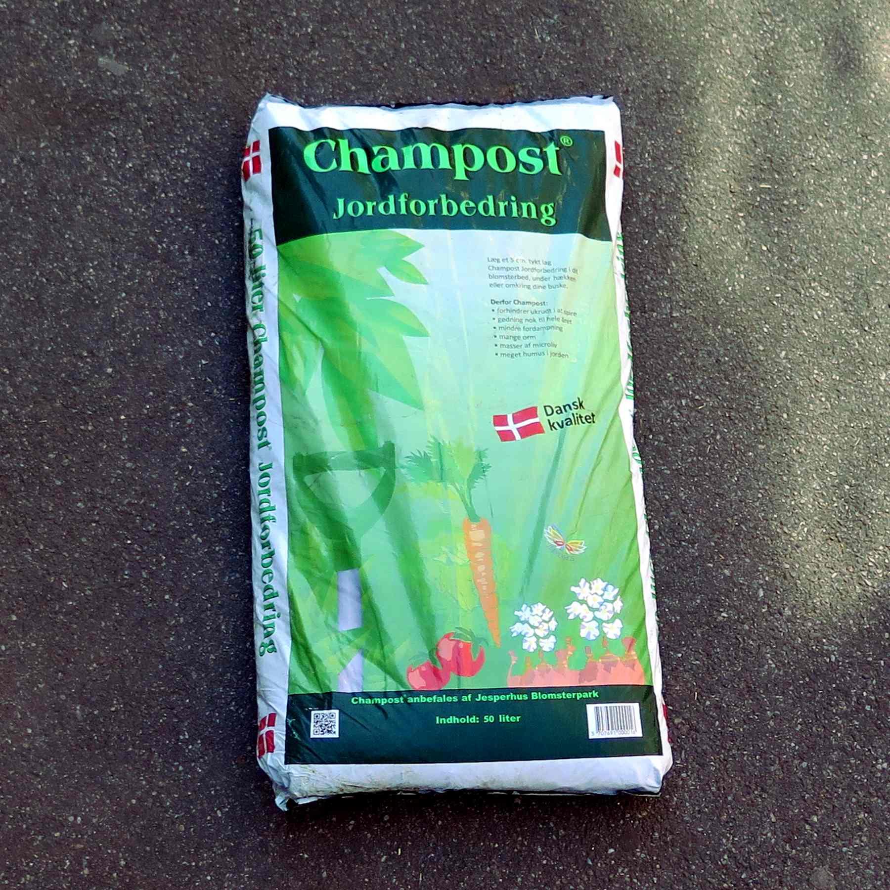 Champost jordforbedring bigbag