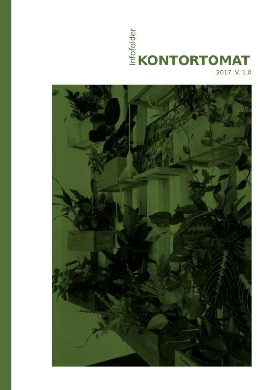 KontorTomat - Infofolder om luftrensende planter