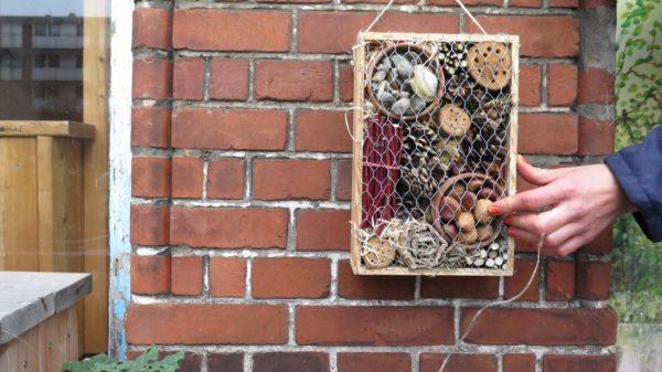 Lav dit eget insekthotel