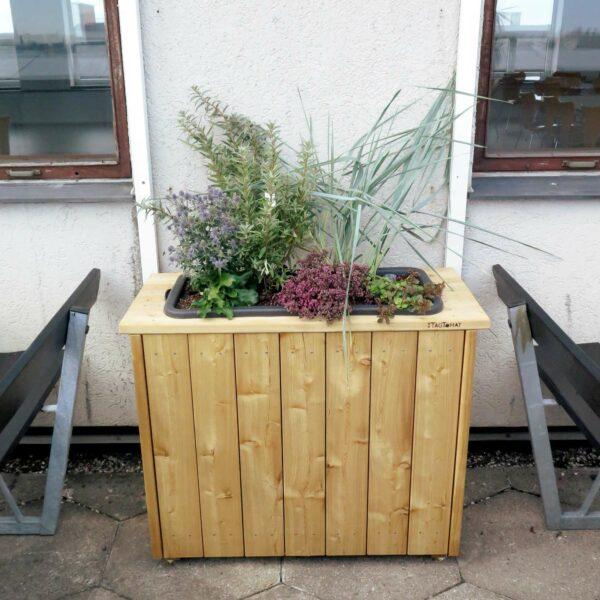 Plantekassemodul - høj - med plantekasse - eksternt reservoir (60 liter)