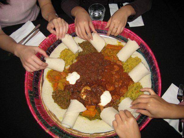 Billet - 18.08.17 - Ethiopisk gadekøkken til TagTomats Høstfest kl. 17-21