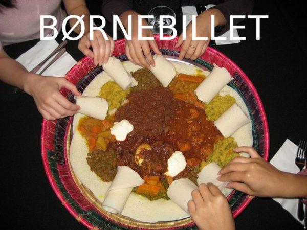 BørneBillet - 18.08.17 - Ethiopisk gadekøkken til TagTomats Høstfest kl. 17-21