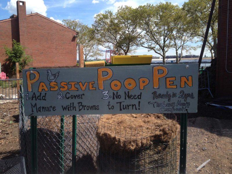 Fra bord til jord. Komposterings- og uddannelsescenteret Earth Matters på Governors Island.