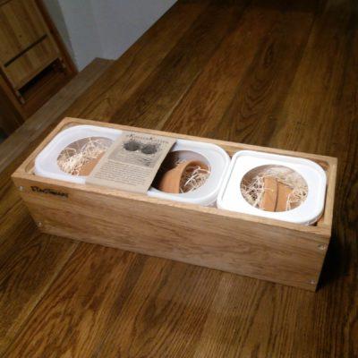 KøkkenKasse kan bruges på altanen, i køkkenet eller på væggen til dine stueplanter.