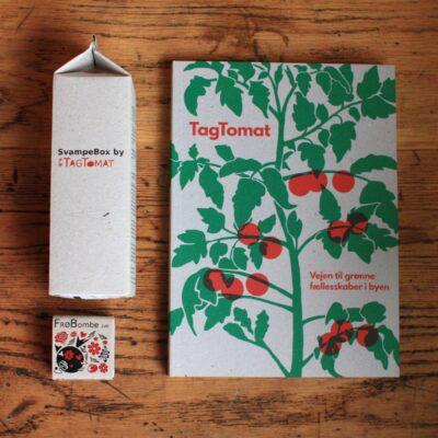 SvampeBox af Østershatte + Frøbombe og BogTomat