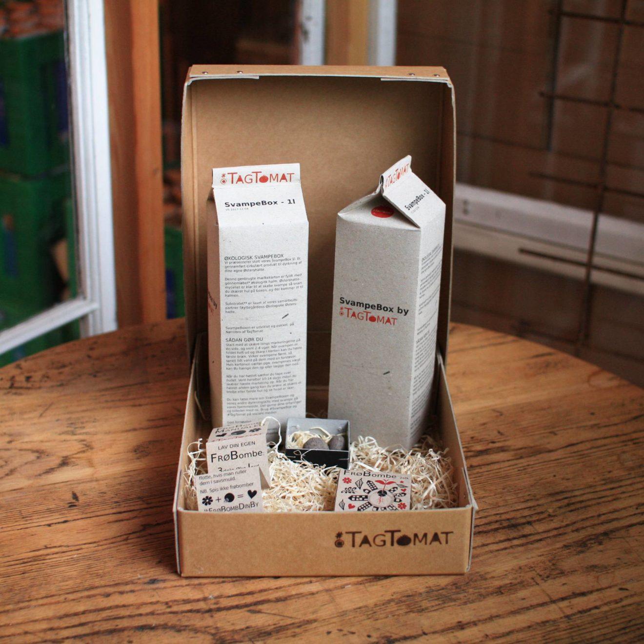 GaveBox - Frøbomber og SvampeBox1l x 2