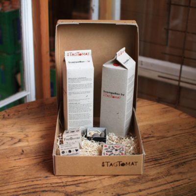 Gavebox af 2 stk SvampeBox + 2 stk Frøbomber