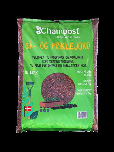 Spagnumfri så- og priklejord fra Champost