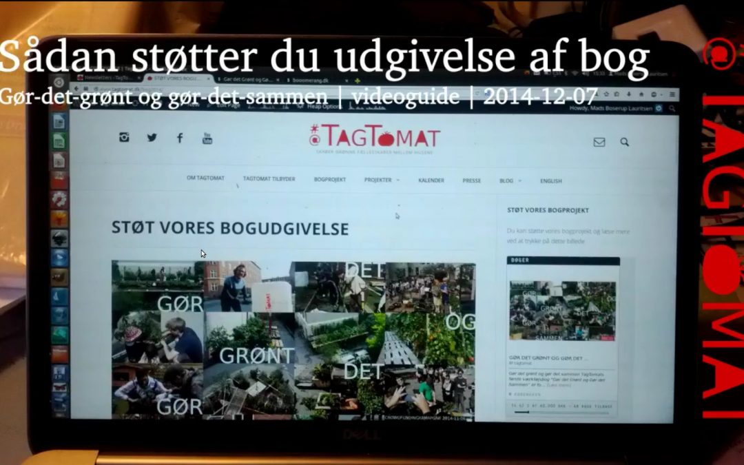 Videoguide: Sådan støtter du crowfundingkampagnen