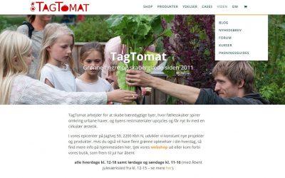 Nyhedsbrev: Ny hjemmeside | Mikrogrønt | Nye svampe | God jul