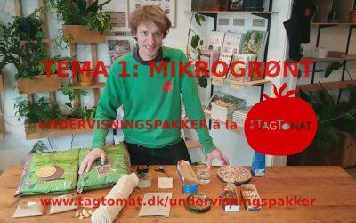 Undervisningspakke Tema 1: Mikrogrønt i mælkekarton – Guide