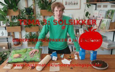 Undervisningspakke Tema 3: Forspiring af solsikke i selvvandende mælkekarton – Guide